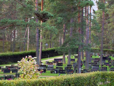 Kirkonmäen hautausmaa